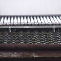 Solar Thermal Evacuated Tube Panels, Kinross