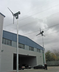 Wind turbine - Kings College School, Wimbledon